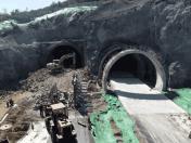必威体育 betway首个公路环山隧道,全线贯通啦!